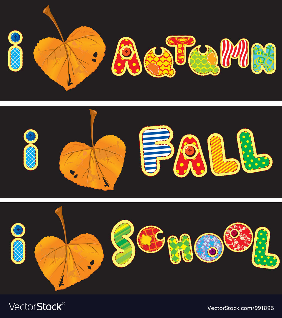 Autumnal heart is made of leaf vector   Price: 1 Credit (USD $1)