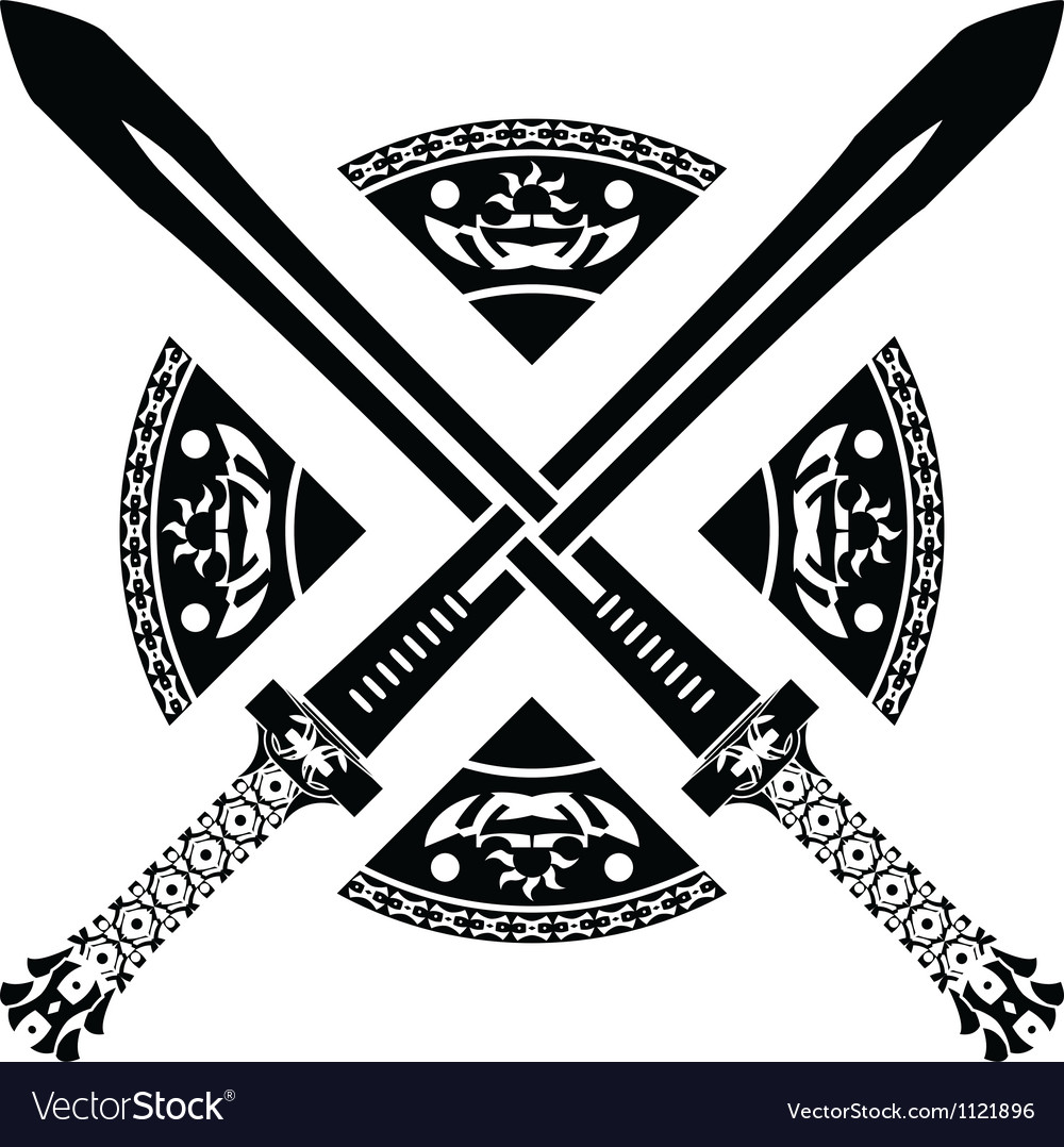 Fantasy swords second variant vector | Price: 1 Credit (USD $1)