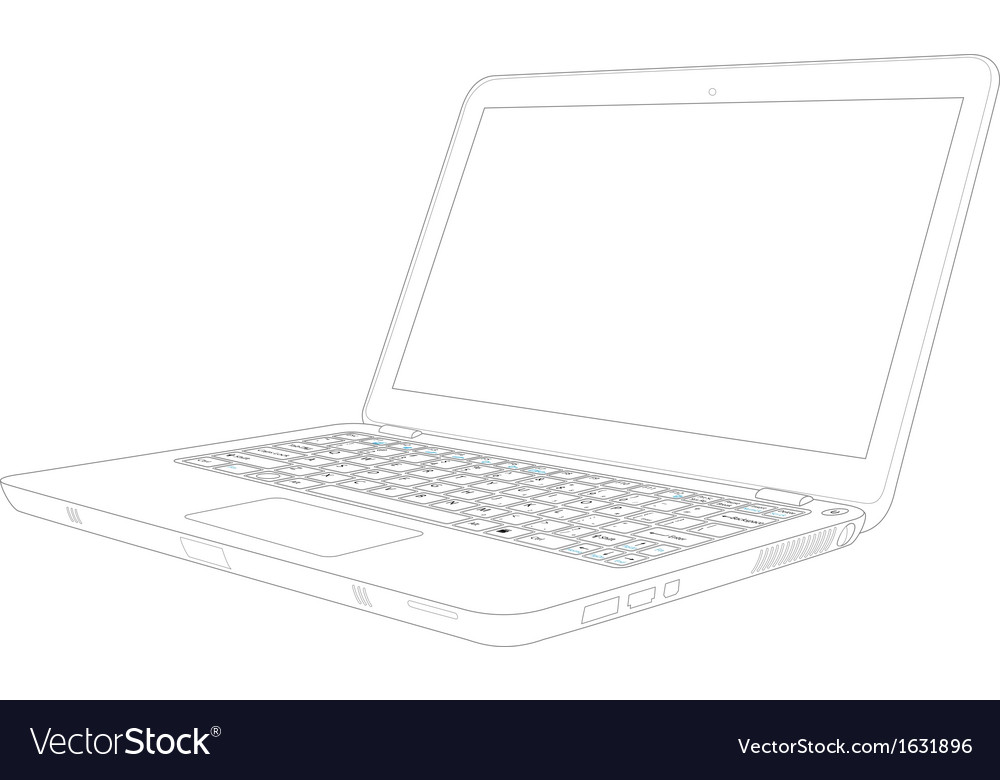 Notebook iso vector | Price: 1 Credit (USD $1)