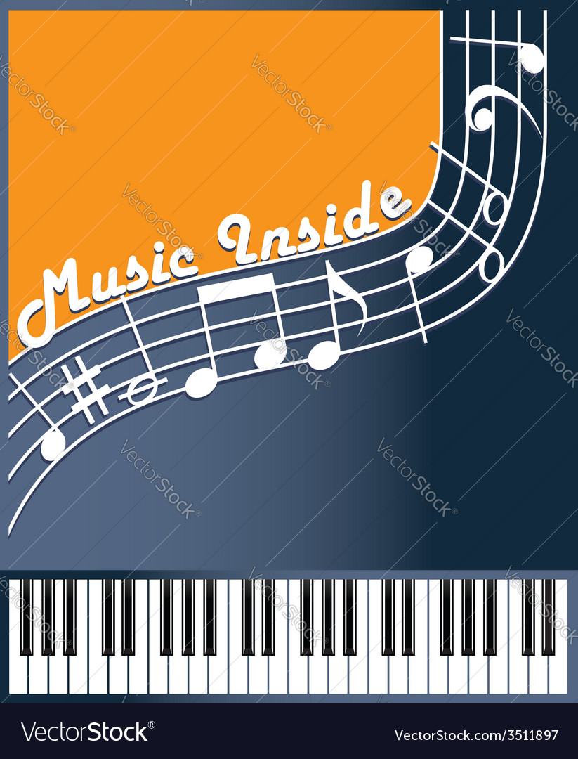 Music inside color vector | Price: 1 Credit (USD $1)