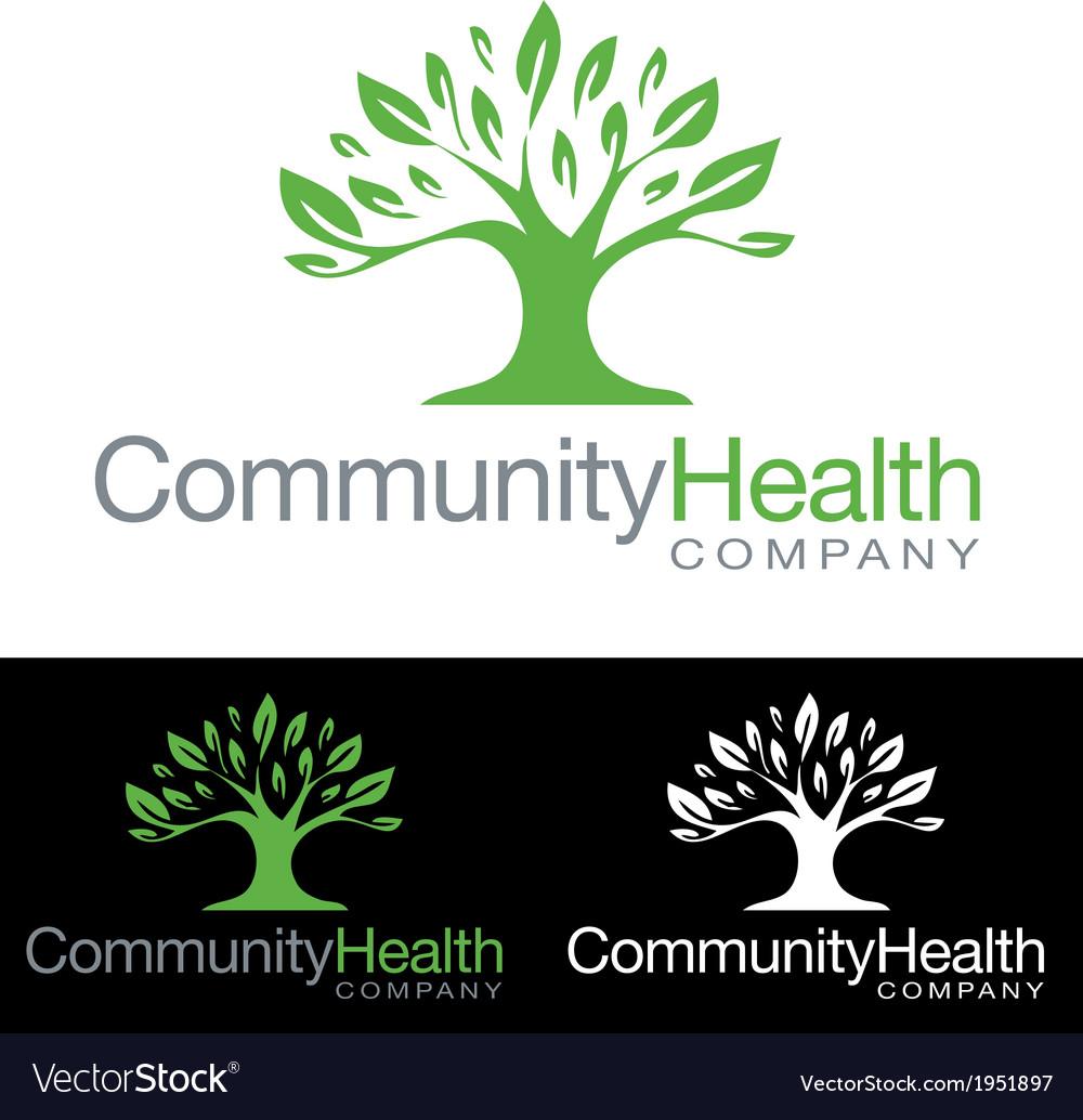 Social community health company icon logo vector | Price: 3 Credit (USD $3)