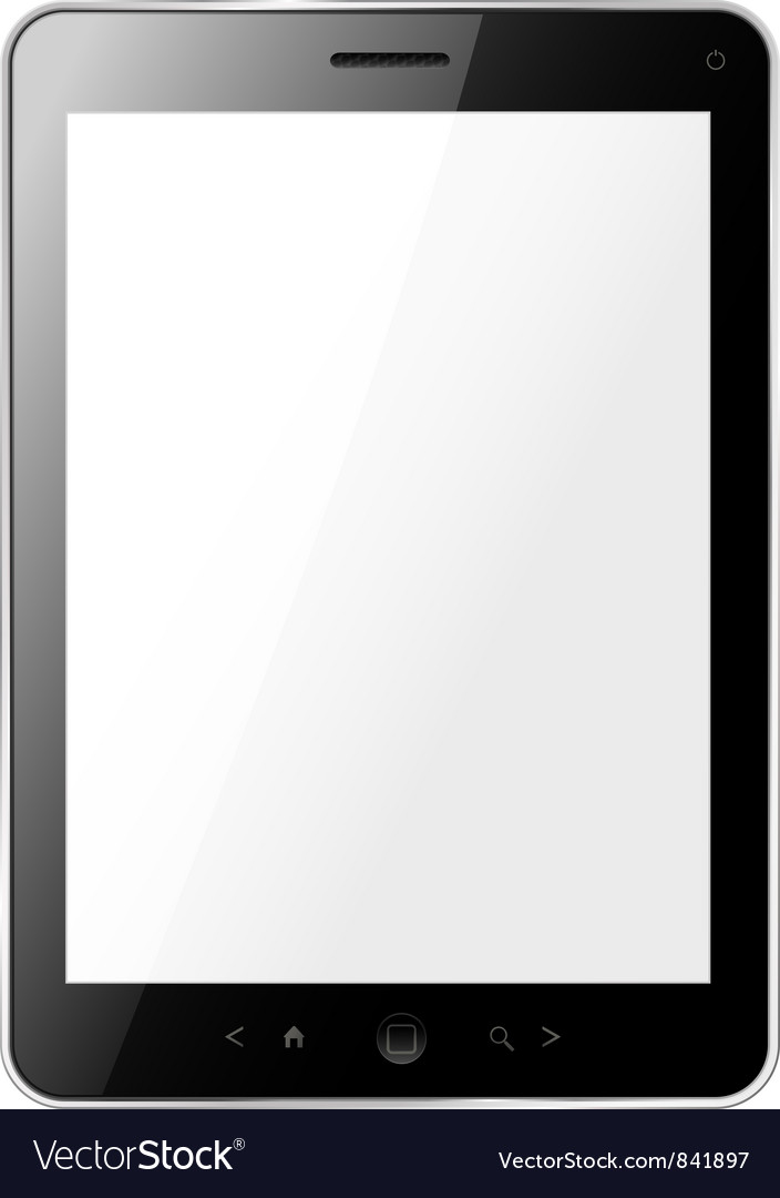 Tablet vector | Price: 3 Credit (USD $3)