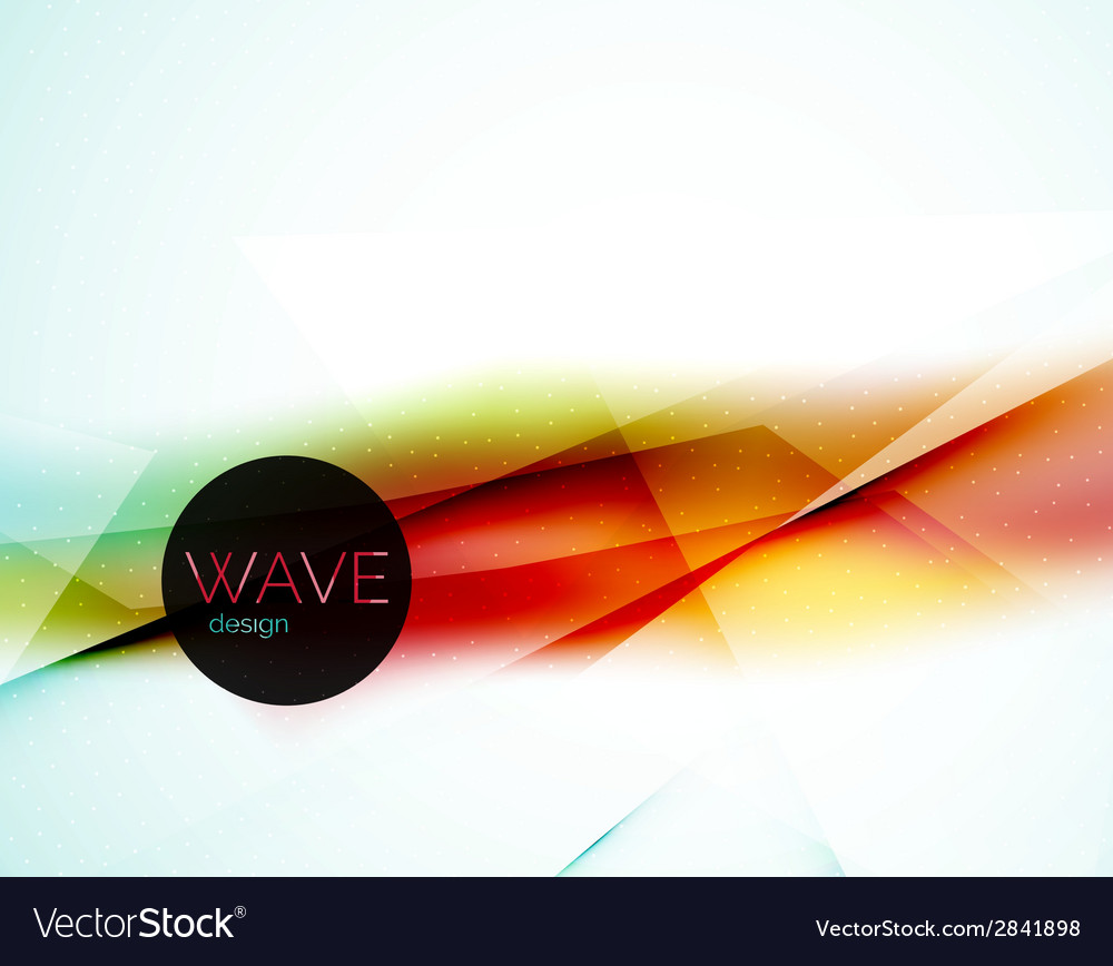 Blur red and blue abstract background vector | Price: 1 Credit (USD $1)