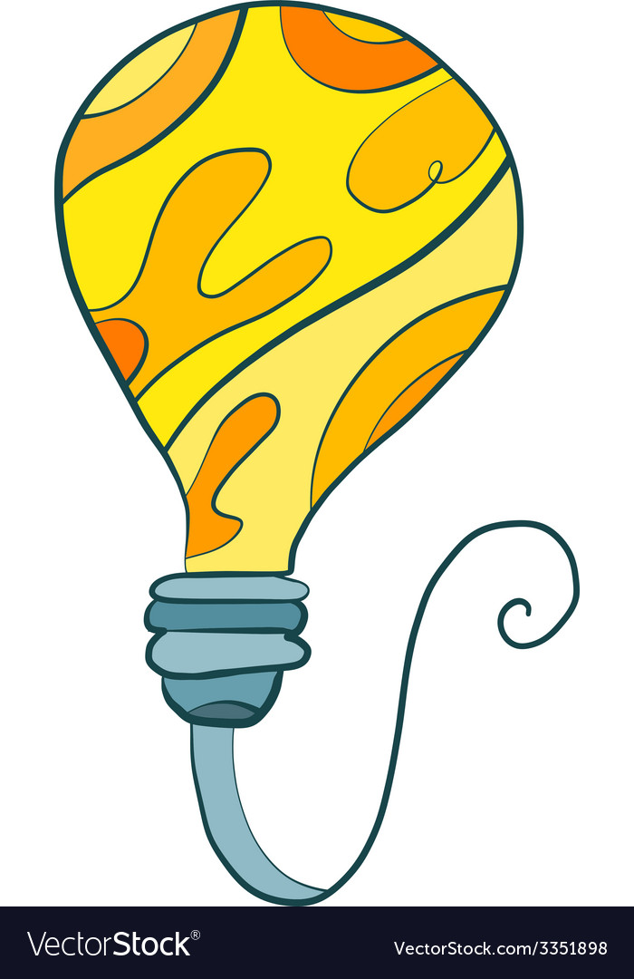 Bulb art vector | Price: 1 Credit (USD $1)