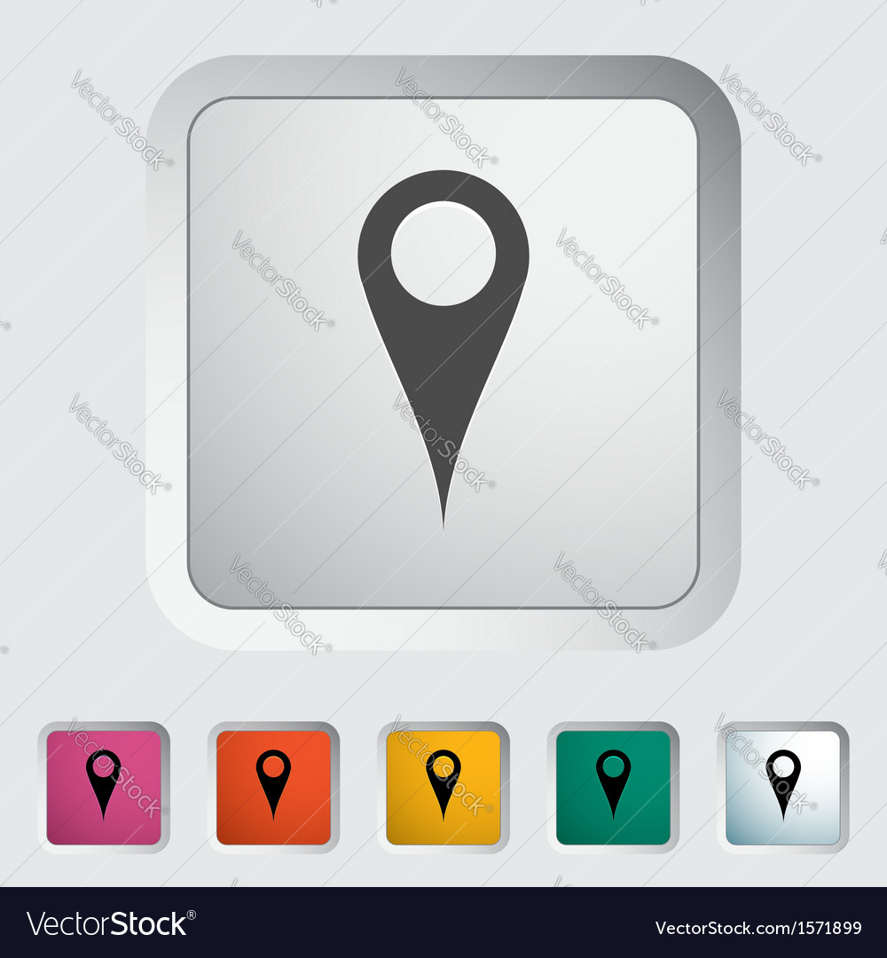 Pin vector | Price: 1 Credit (USD $1)