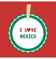 I love mexico4 vector