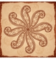 Vintage beige abstract background vector