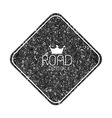 Set of road blank retro vintage badges and labels vector