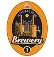 Machine to make beer vector