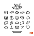 Hipster label stuff part one vector