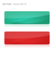 Button template web green and red vector