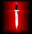 Abstract sword vector