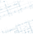 Architecture blueprint background vector