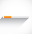 Cigaretteflatshadow vector