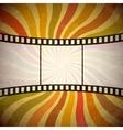 Grunge film strip background  eps10 vector