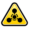 Chemical weapon sign vector