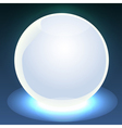 Glowing ball vector