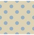 Seamless pastel polka dots pattern vector