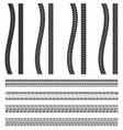 Various automobile tyre vector