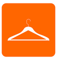 Objects collection clothes hanger vector