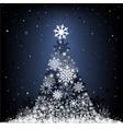Snow fir-tree vector