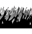 Rock crowd vector