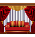Theatre lounge vector