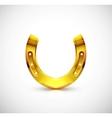 Golden horseshoe vector