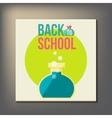 Back to school design template vector