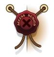 Access denied prohibition seal icon vector