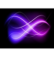 Blurry abstract purple light effect background vector
