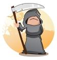 Cartoon grim reaper vector