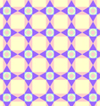 Triangle circle and quadrate pattern on pastel vector