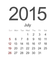 Modern 2015 calendar eps 10 vector