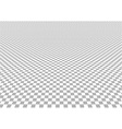 Perspective checkered background vector