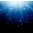 Star dust background vector