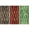 Seamless snake skin pattern vector