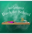 Welcome back to school template design plus eps10 vector