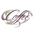 Coffee design template vector