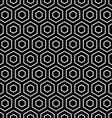 Hexagons texture vector