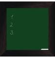Wood bord green dark vector