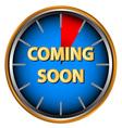 Coming soon icon vector