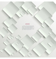 White tiles abstract background vector
