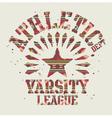 Native americans athletic vector
