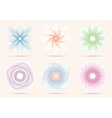 Spirograph ornament collection vector