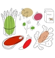 Food ingredient vector