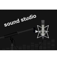 Sound studio vector