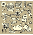 Collection of grunge clip-art vector