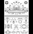 Collection of original frames vector