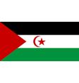 Sahrawi arab democratic republic vector